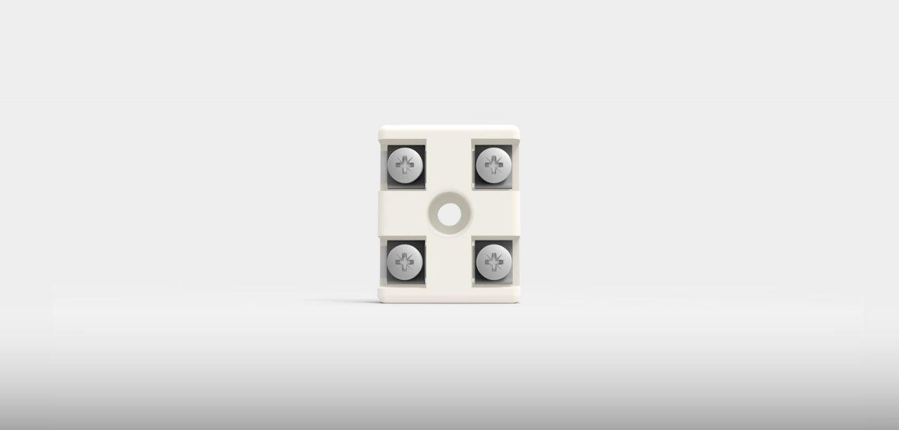 2P ceramic terminal block from Ceramicx