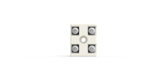 2P ceramic terminal block from Ceramicx