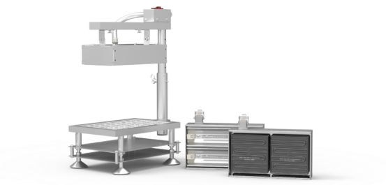 Portable Test Stand from Ceramicx