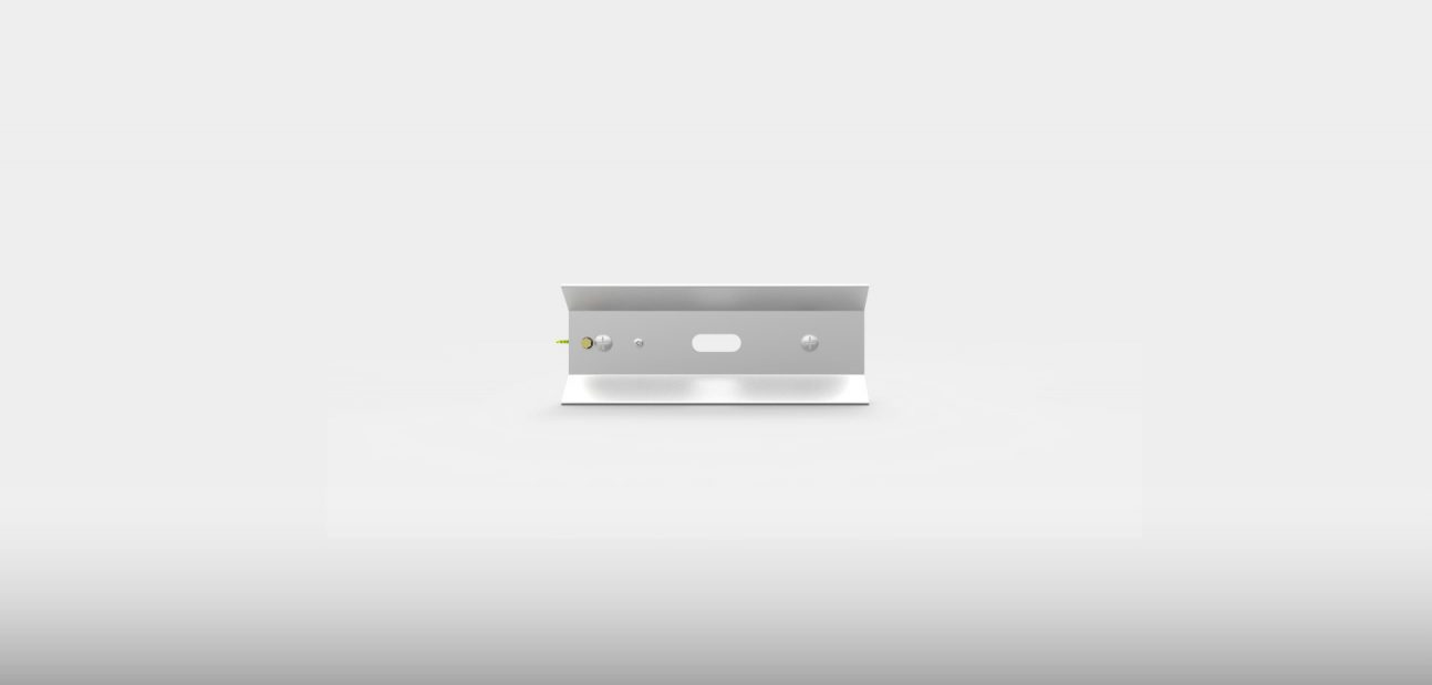 Aluminised steel reflector from Ceramicx