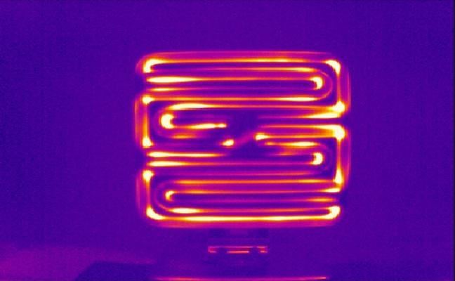 Ceramic element heat test