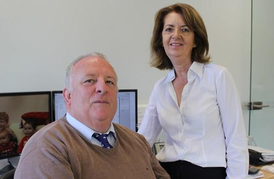 Frank and Gráinne Wilson