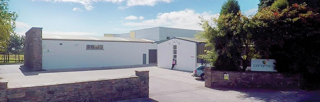 Ceramicx new building