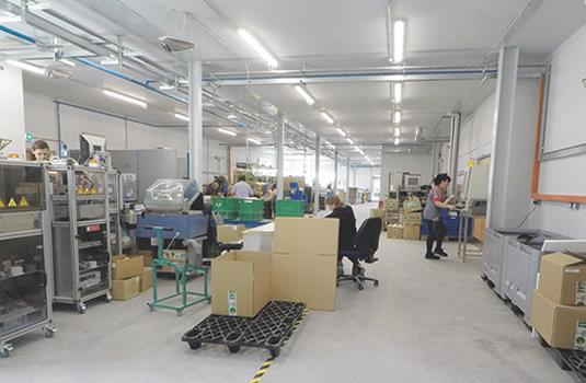 Ceramicx History: production floor