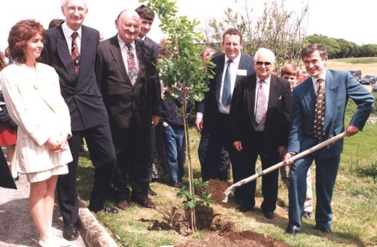 Ceramicx History: tree planting
