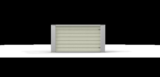 Pillared Half Quartz Infrared Heating Element – Ceramicx